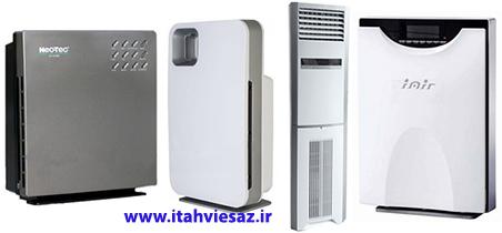انواع دستگاه های تصفیه هوای نئوتک