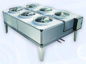 کندانسور هوایی تهویه آذرباد با فن آکسیال