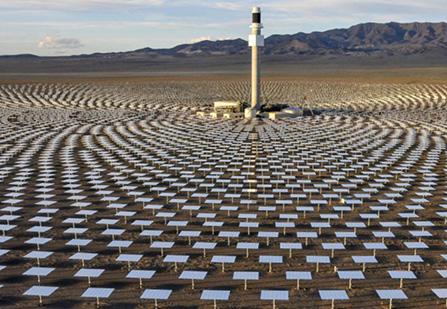 کاربردهای نمک مذاب در نیروگاه خورشیدی